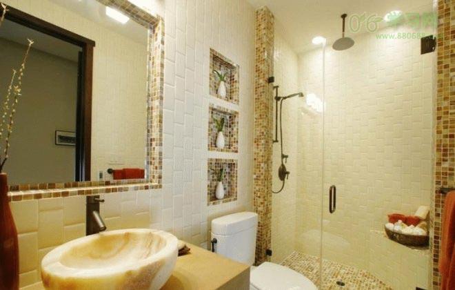 19款卫生间装修瓷砖设计效果图