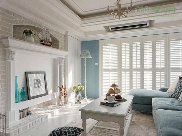地中海風格的兩居室裝修效果圖