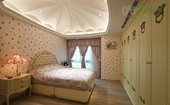 8种古典欧式风格卧室设计效果图